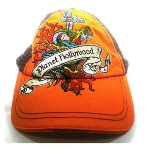 Planet Hollywood vintage rare hat one size
